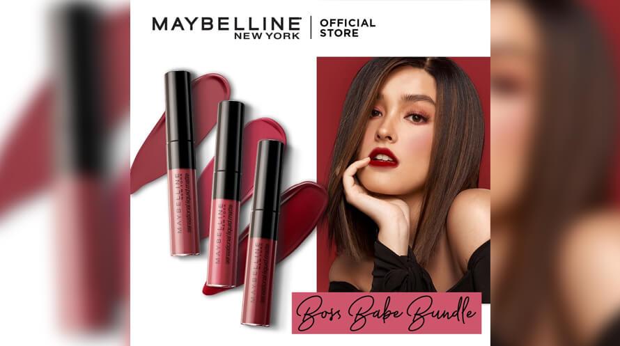 Maybelline sensational liquid matte