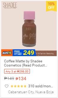Coffee Matte by Shadee Cosmetics
