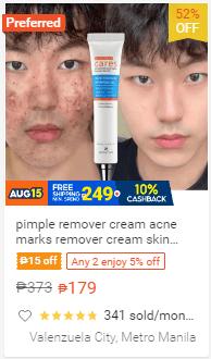 pimple remover cream acne marks remover cream skin care products anti Acne Treatment Face Serum PH